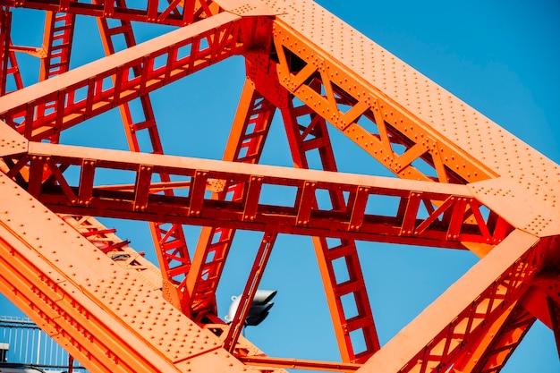 Estrutura da torre de tóquio Foto gratuita