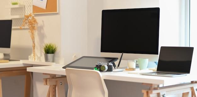 Estúdio criativo do freelancer Foto Premium