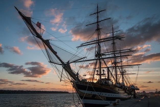 Evento de navios altos Foto Premium
