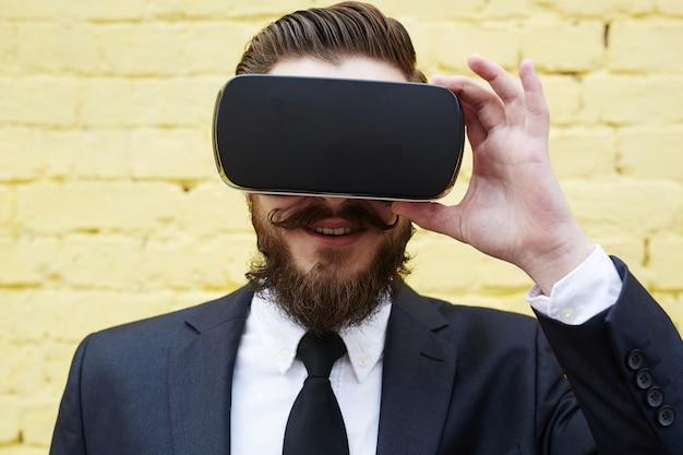 Experiência virtual Foto gratuita