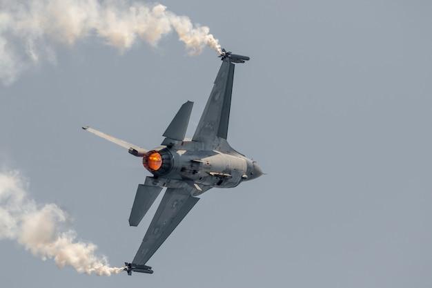 Exposição de solo belga de aeronaves Foto Premium