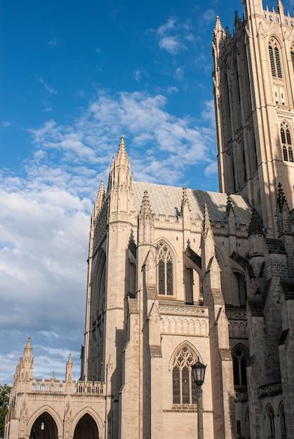 Exterior da catedral nacional, washington dc Foto gratuita