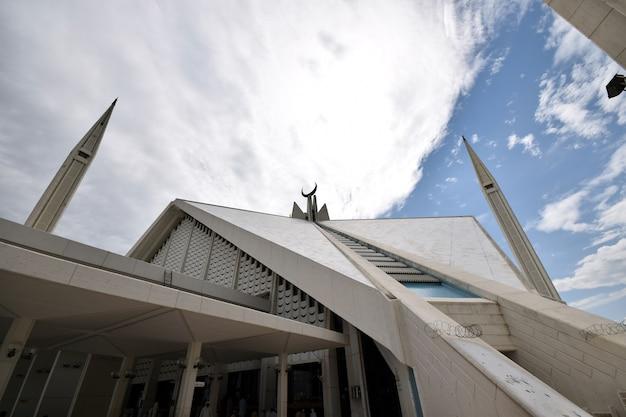 Faisal mosque islamabad Foto Premium