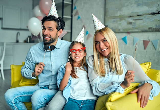 Família feliz. Foto Premium