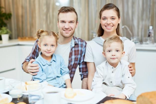 Família jovem Foto gratuita