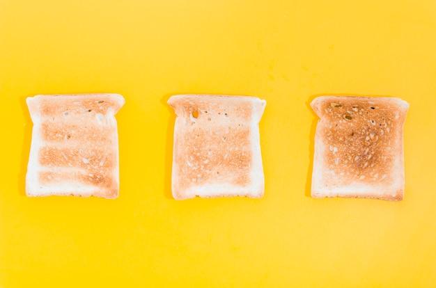 Fatia de pão torrado Foto gratuita