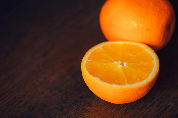 Fatias de laranja Foto Premium