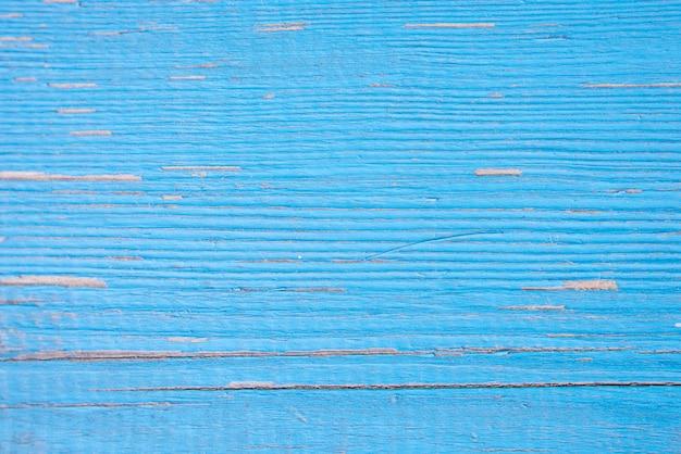 Fechamento em painéis de madeira azuis da cerca Foto Premium