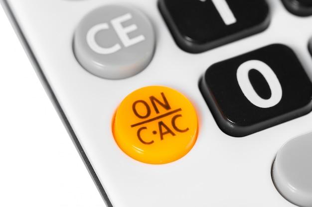 Fechar imagem da calculadora Foto Premium