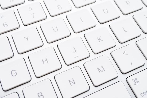 Feche o botão do teclado Foto gratuita