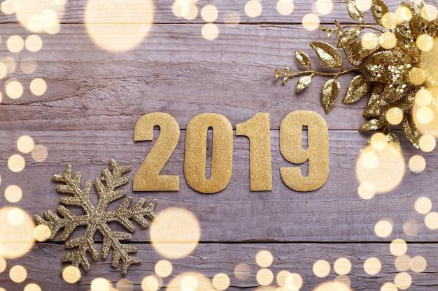 Feliz ano novo 2019 Foto Premium