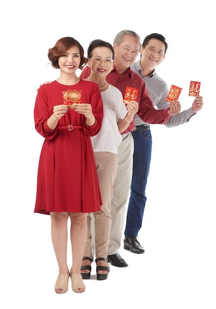 Feliz ano novo chinês Foto gratuita