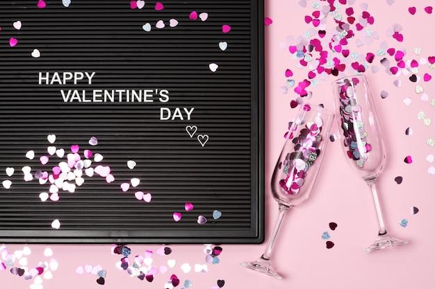 Feliz dia dos namorados cartão Foto Premium