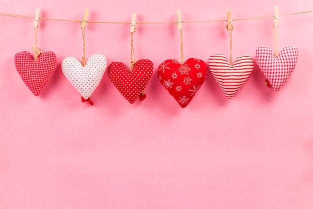 Feliz Dia Dos Namorados E Coração. Cartão Com Feliz Dia