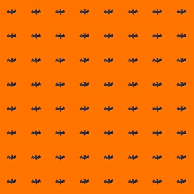Feriado de halloween, plano de fundo sem emenda Foto Premium