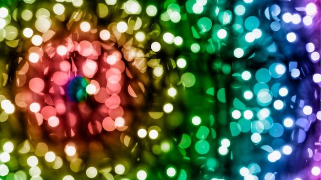 Férias de natal brilhante bokeh texturizado fundo Foto gratuita