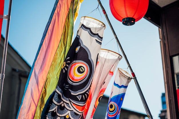 Festival de carpa no japão Foto gratuita