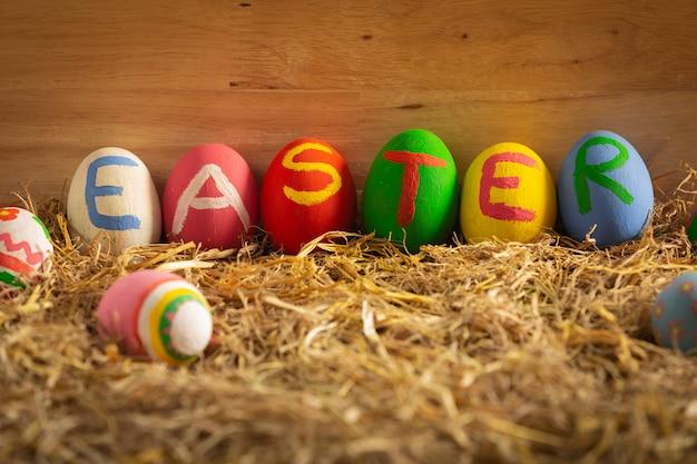Festival de ovo de páscoa. Foto gratuita