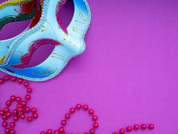 Festivo carnaval mardi gras veneziano Foto Premium