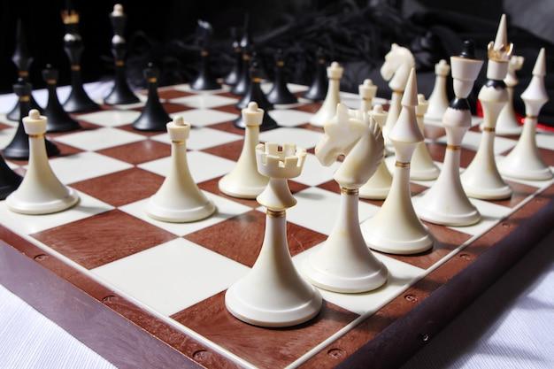 Figuras de xadrez Foto gratuita