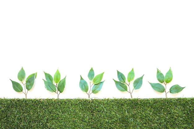 Fila de ramos artificiais Foto gratuita