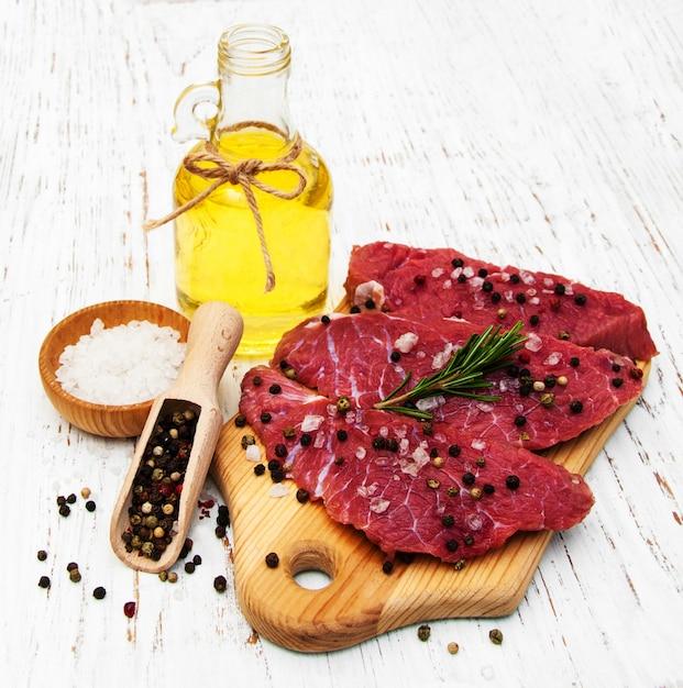 Filé de carne Foto Premium