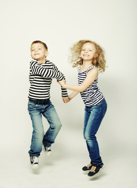 Filhos, irmã e irmão Foto Premium