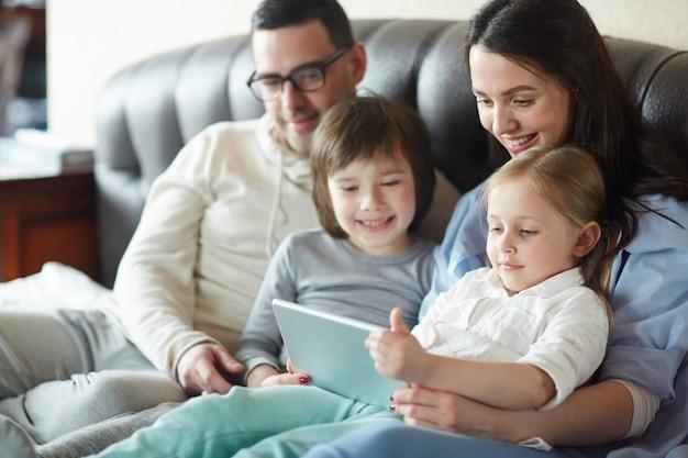Filme para a família Foto gratuita