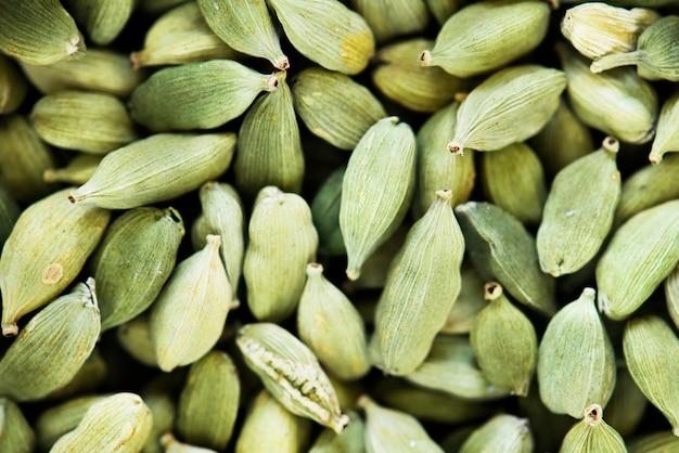 Fim, cima, abóbora, sementes Foto gratuita
