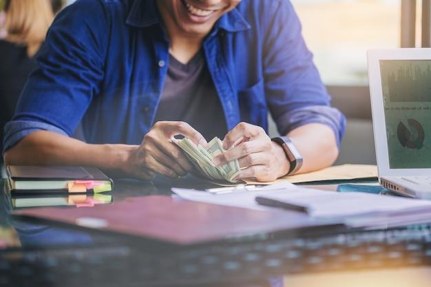 Finanças empresariais Foto Premium