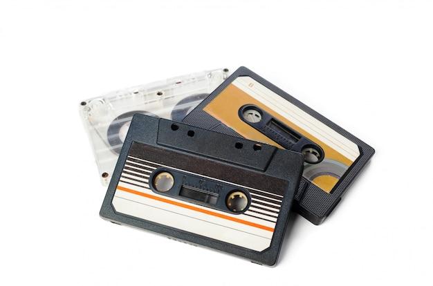 Fita de áudio de música Foto Premium