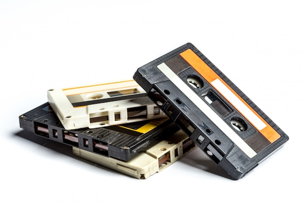Fitas cassete vintage Foto Premium