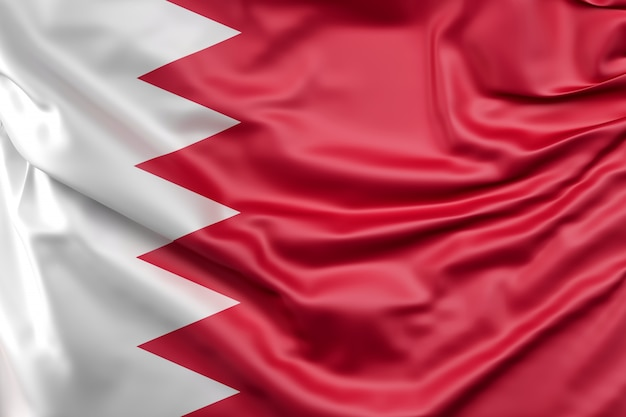 Flag of bahrain Foto gratuita