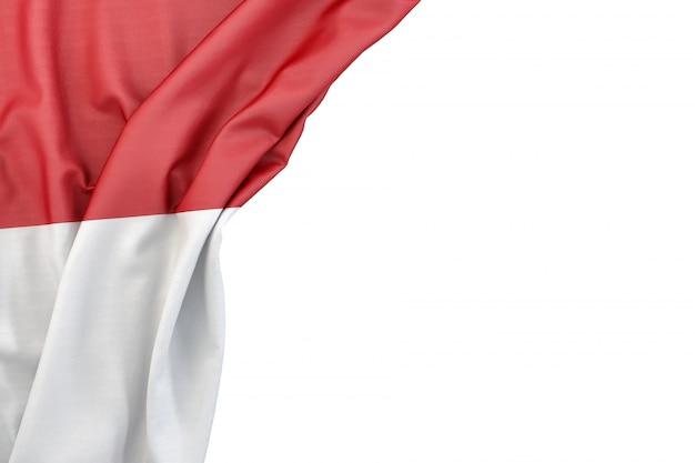 Flag of monaco Foto Premium