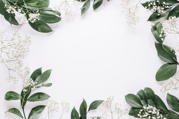Flores de fundo Foto gratuita