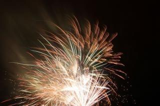Fogos de artifício blowup, bomba Foto gratuita