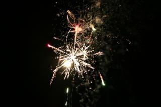 Fogos de artifício, cores, blowup Foto gratuita