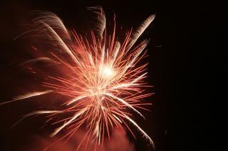 Fogos de artifício, festa, explosão Foto gratuita