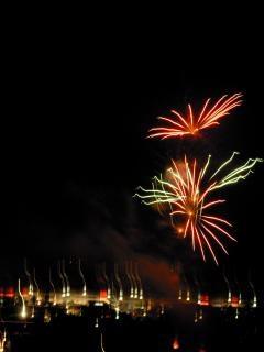 Fogos de artifício, newyears, bomba Foto gratuita