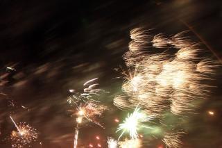 Fogos de artifício, newyears, fogos de artifício Foto gratuita