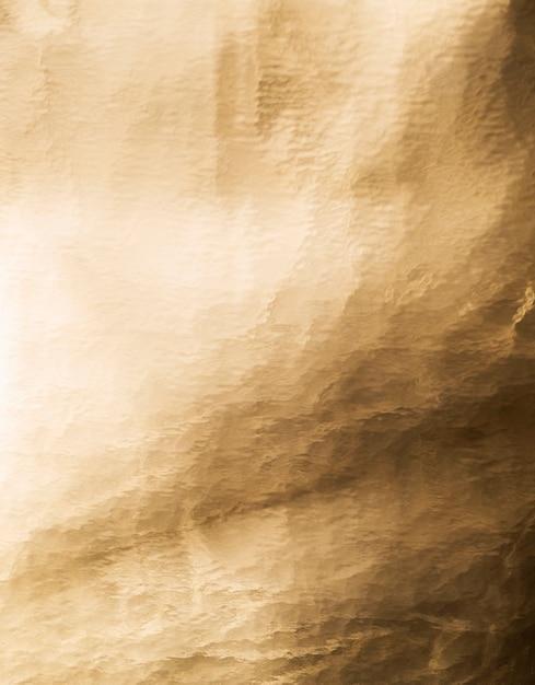 Folha antiga de fundo dourado Foto Premium