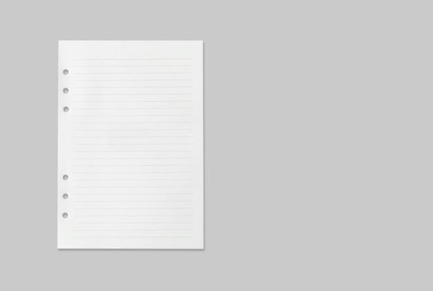 Folha de papel branca textura para o fundo com o traçado de recorte. Foto Premium