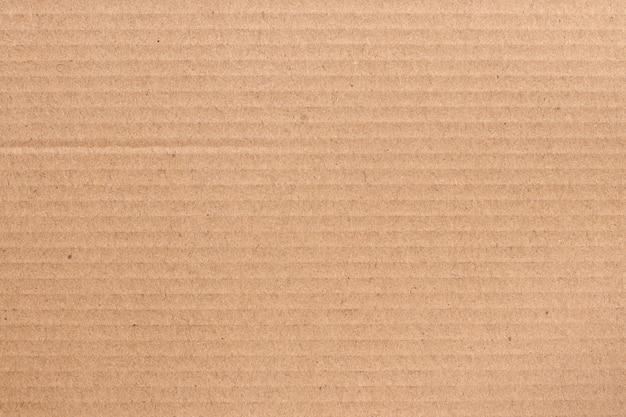 Folha de papelão marrom, textura de caixa de papel reciclado. Foto Premium