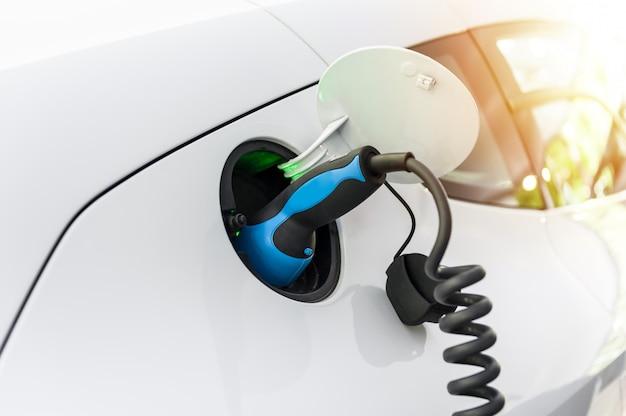 Fonte de alimentação para carregamento de carros elétricos Foto Premium