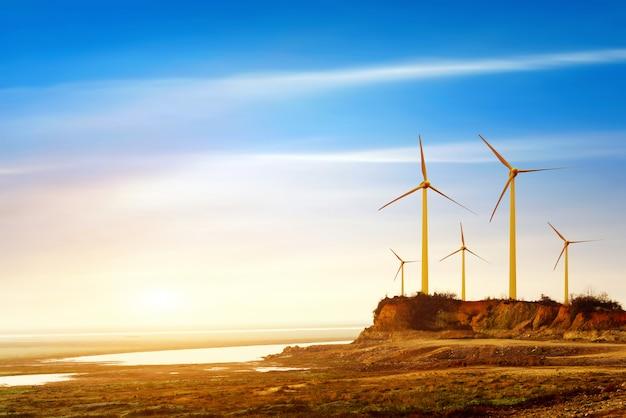 Força do vento Foto Premium