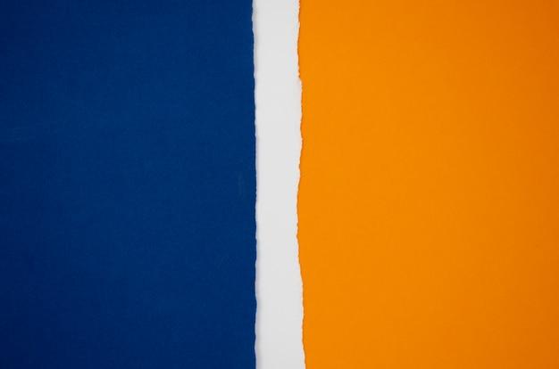 Forma abstrata bandeira de papel colorido Foto gratuita