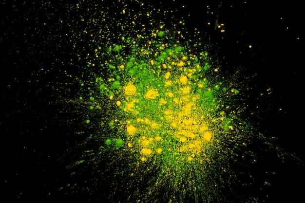 Foto de estúdio de cores brilhantes holi Foto gratuita