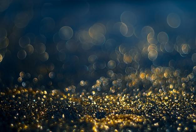 Foto desfocada abstrata de explosão de luz de bokeh e texturas. luz multicolorida Foto Premium
