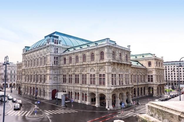 Foto sobre viena, estado da ópera Foto Premium