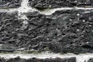 Fotografia textura da parede de pedra Foto gratuita